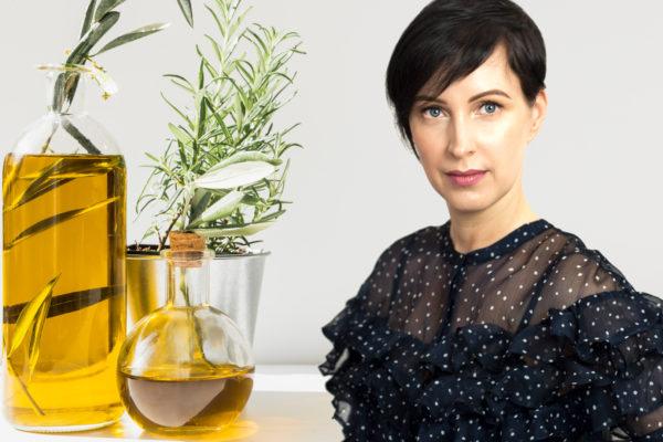 Oils in skin care
